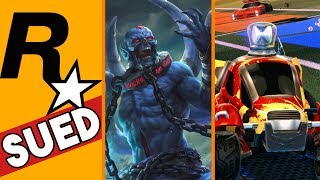 Rockstar Games SUED + Artifact Already Dead + Rocket League adds Crossplay to PS4!