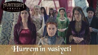 Hürrem'in Kanuni'ye Vasiyeti - Muhteşem Yüzyıl 134.Bölüm