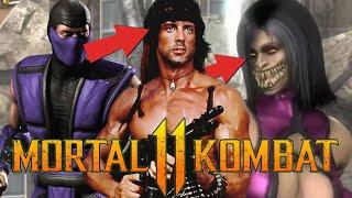 MORTAL KOMBAT 11 - SURREAL! MILEENA, RAIN, RAMBO E NOVO AFTERMATCH DENTRO DO JOGO