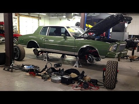 1979 Chevrolet Monte Carlo Pro Touring Build Project