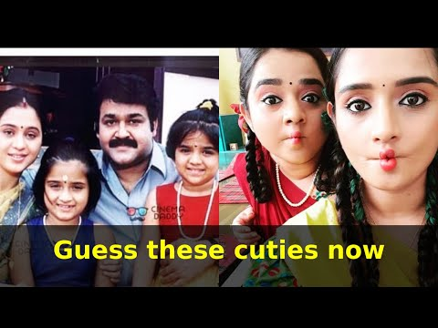 Guess These Cuties Now - Balettan Movie Mohanlal And Devayanis Daughters NOW!