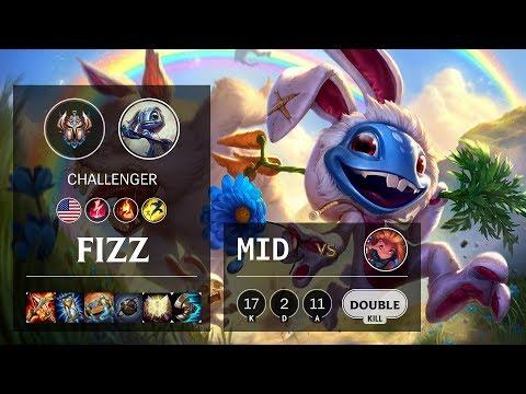 Fizz Mid vs Zoe - NA Challenger Patch 10.8