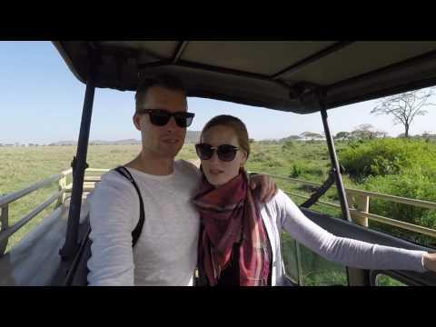 Tanzania Safari + Zanzibar - Silke and Kjell on Safari - 1080p60 HD - GoPro Hero 4