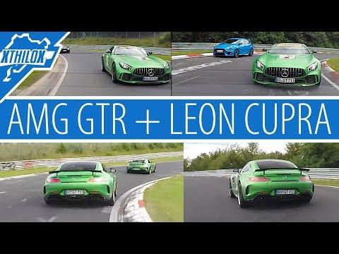 Beast Invasion on Green Hell - 2 new AMG GTR + Leon Cupra - Nürburgring Nordschleife