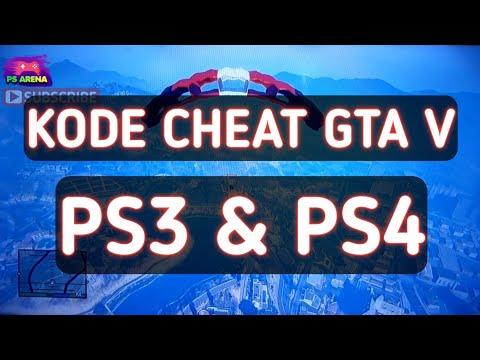 CIT Kode GTA 5 PS3 & PS4 (CHEAT code GTA V)