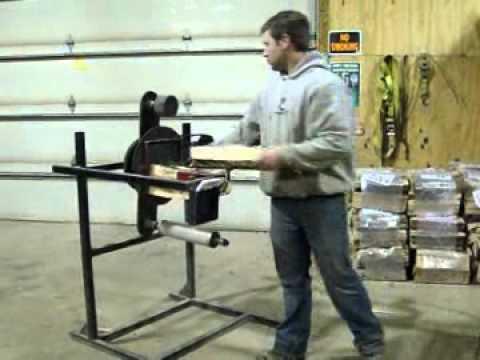 firewood bundler machine