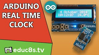 arduino project real time clock rtc and temperature monitor using the ds3231 module