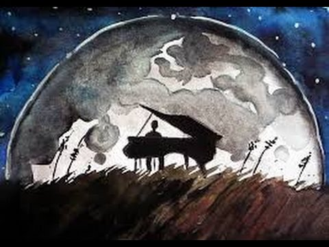 Classical Music Moonlight Sonata (most liked ver.) Ludwig van ...