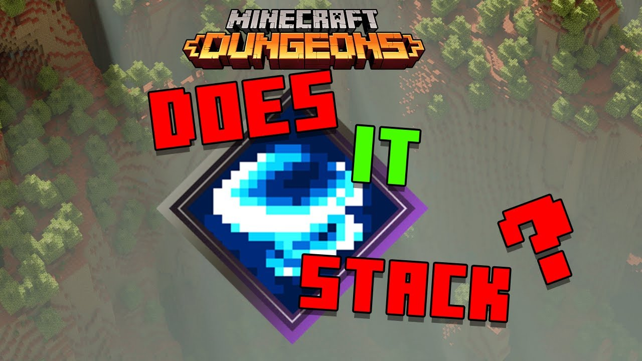 Swirling - Does It Stack Minecraft Dungeons Enchantment