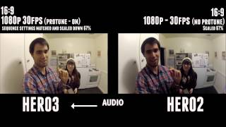GoPro Hero3 Black Edition Low Light & Audio - Side by Side Comparison Test/Review - stephendiaz.com