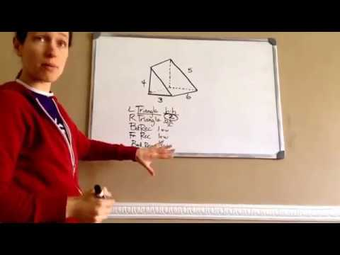 Saxon Math 7th Grade - Lesson 105 - Surface Area of a Right