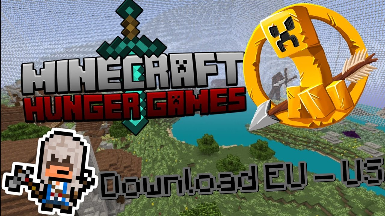 Minecraft PS Hunger Games Map DOWNLOAD EU US YouTube - Hunger games us map