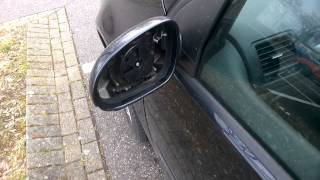 Как заменить Зеркало в Volkswagen Golf Или в Германии тоже ВОРУЮТ зеркала!