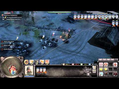 Company of Heroes 2 - Operation Barbarossa DLC - Schildkroteberg - General Difficulty