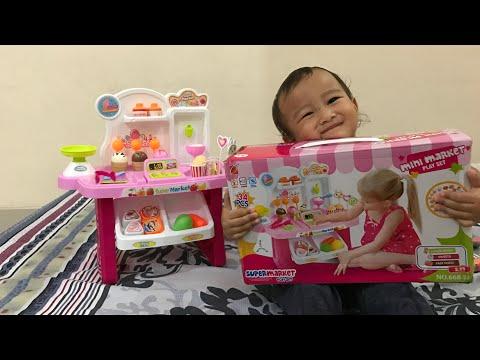 Kenzo Belajar Menghafal dengan Mainan Supermarket Ice Cream Playset