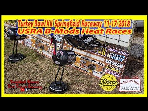 B-Mods - Heat Races - Turkey Bowl XII Springfield Raceway 11-17-2018