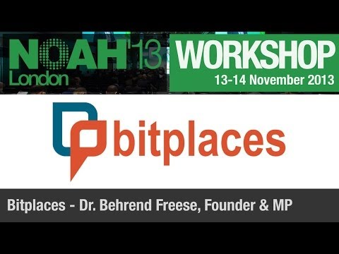 Workshop - Bitplaces - NOAH13