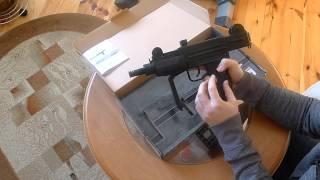 Pistolet maszynowy IWI MINI UZI kal. 4,46mm - test wiatrówki cz. 1
