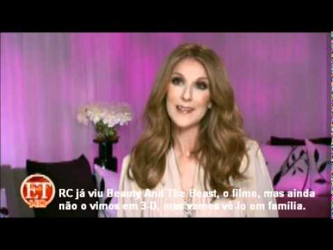 Celine Dion talks about Beauty And The Beast (Jan 2012)