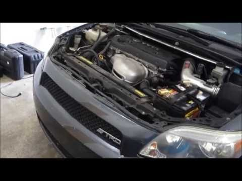 Scion tc 2005 starter removal DIY