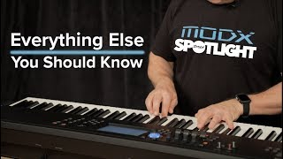 YAMAHA MODX: Everything Else You Should Know