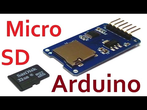 Arduino SD карта тест Storage Board Mciro SD TF Card Memory Shield Module SPI