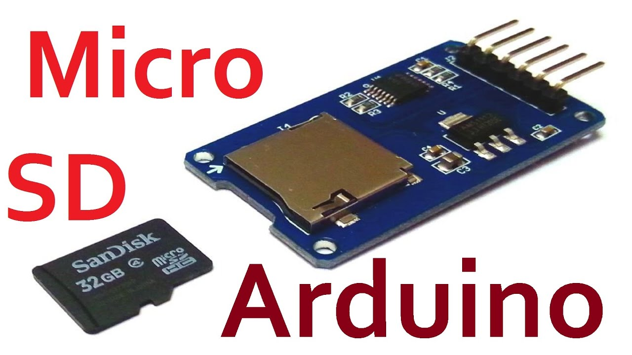 Arduino sd карта тест storage board mciro tf card me
