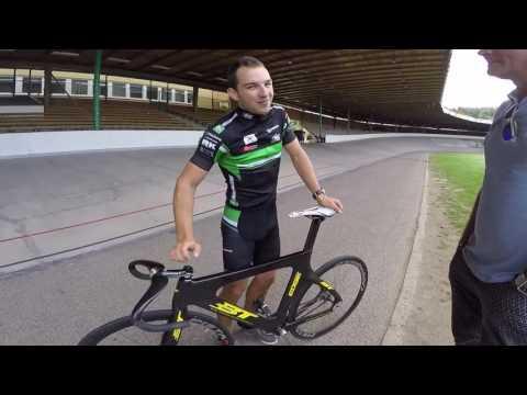 Jakub Kornfeil Talks Track Cycling