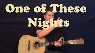 One of These Nights (The Eagles) Easy Guitar Lesson How to Play Tutorial