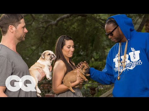 2 Chainz Pets a $100K Dog | Most Expensivest Shit | GQ