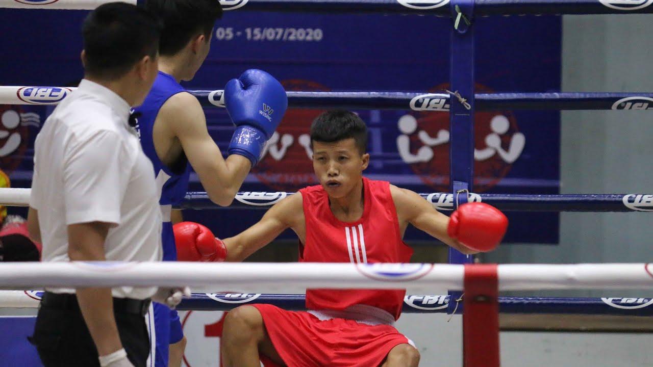 Võ sĩ Cà Mau nhận đòn đau trên sàn boxing toàn quốc
