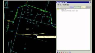 Cadastral map update - manual