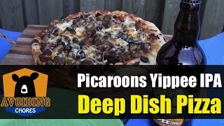 Cast Iron Dutch Oven - Deep Dish Pizza With Yippee Ipa