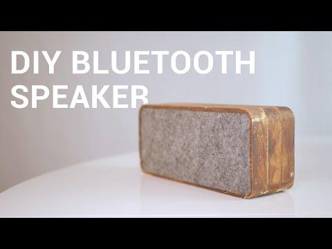 DIY Wooden Bluetooth Speaker Tutorial