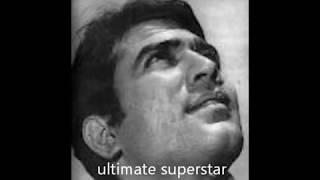 Tribute to Rajesh Khanna Zindagi ka safar, hai ye kaisa safar, koi samjha nahi, koi jana nahi
