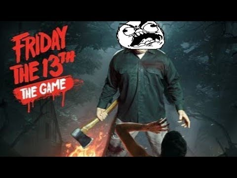 Friday The 13th Game - Making Jason Rage Quit Montage - Cover Your Ears! (Why Are You So Angry!?)