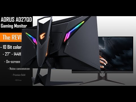 Gigabyte AORUS AD27QD, The first of its kind!