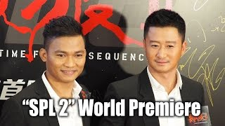 "Tony Jaa and Wu Jing at ""SPL 2"" 殺破狼2 World Premiere in Hong Kong"