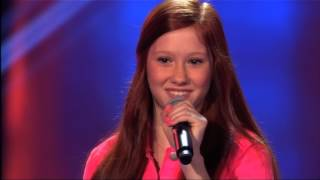 Amazing Blind Audition - Skinny Love - The Voice Kids [HD]