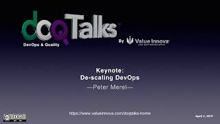 "DOQ Talks 2019: ""De-scaling DevOps"""