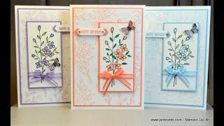 No.450 - HOW TO.....Faux Silk - JanB UK #7 Top Stampin' Up! Independent Demonstrator