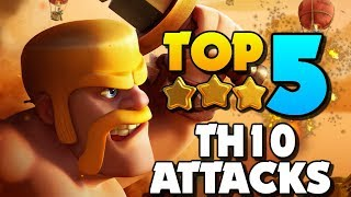 TOP 5 BEST TH10 Attack Strategies for 2019 in Clash of Clans!!