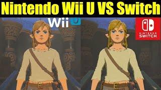 Zelda: Breath of the Wild GRAPHICS COMPARISON (Nintendo Wii U VS Nintendo Switch)