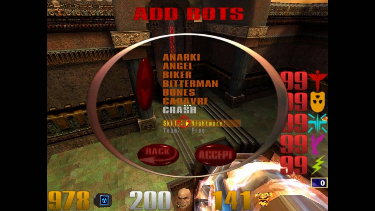 Quake III Arena Cheats