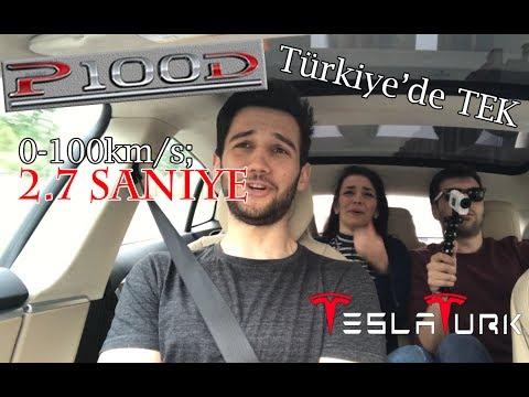 Türkiye'de İlk Tesla Model S P100D Tecrübesi! (Dünyanın En Hızlı Seri Üretim Ara