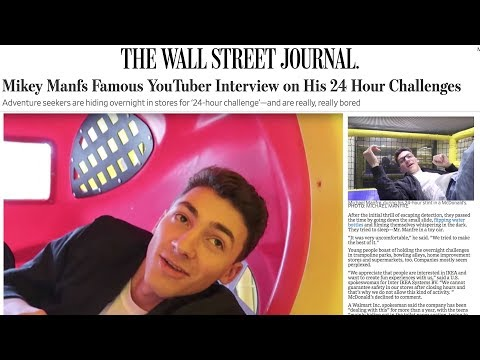 I MADE IT ON THE NEWS FOR MY VIRAL 24 HOUR CHALLENGES! (3 MILLION+ ACTIVE READERS)