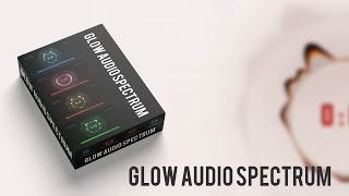 Glow audio spectrum | Music Visualizers | New Audio Spectrum | OMER J GRAPHICS | OMER J STUDIO