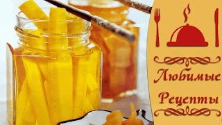 Рецепт маринованного имбиря, вкуснятинка