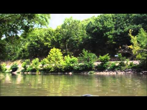 Kayaking Shoal Creek