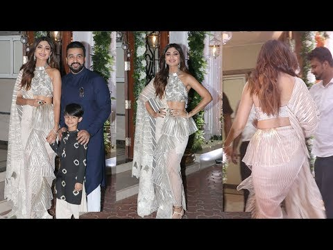 Shilpa Shetty's Late Night DIWALI Party 2018 With Hubby Raj Kundra & Son Vian thumbnail